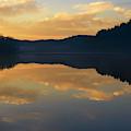 Winter Dawn At The Lake by Thomas R Fletcher