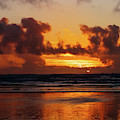 Pacific Ocean Sunset by Lost River Photography
