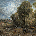 Stoke-by-nayland by John Constable