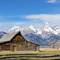 The Grand Teton by Michael Chatt