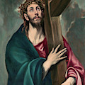 Christ Carrying The Cross  by El Greco