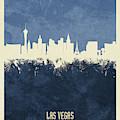 Las Vegas Nevada Skyline by Michael Tompsett