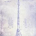 1871 Fire Hose Elevator Patent Blueprint  by Jon Neidert