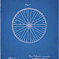 1885 Bicycle Wheel Patent by Dan Sproul