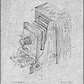 1887 Blair Photographic Camera Gray Patent Print by Greg Edwards