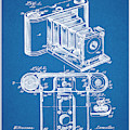 1899 Photographic Camera Patent Print Blueprint by Greg Edwards