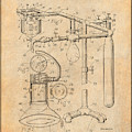 1919 Anesthetic Machine Antique Paper Patent Print by Greg Edwards