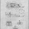 1919 Motor Driven Hair Clipper Gray Patent Print by Greg Edwards