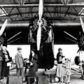 1920s 1930s Group Of Passengers Waiting by Panoramic Images