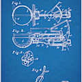 1924 Ice Cream Scoop Blueprint Patent Print by Greg Edwards
