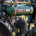 1925 Bsa B25 Motorcycle by Tim Gainey