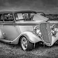1933 Ford Tudor Sedan With Trailer by Ken Morris