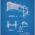 1933 Soccer Goal Blueprint Patent Print by Greg Edwards