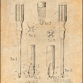 1935 Phillips Screw Driver Antique Paper Patent Print by Greg Edwards