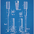 1935 Phillips Screw Driver Blueprint Patent Print by Greg Edwards