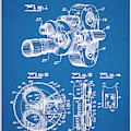 1938 Bell And Howell Movie Camera Patent Print Blueprint by Greg Edwards