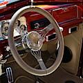 1938 Pontiac Silver Streak Interior by Debi Dalio