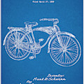 1939 Schwinn Bicycle Blueprint Patent Print by Greg Edwards