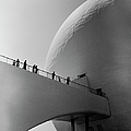 1939 Worlds Fair Visitors Entering The by Alfred Eisenstaedt