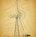 1944 Wind Turbine Patent Design by Dan Sproul