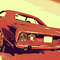 1972 Plymouth Barracuda Red by David King