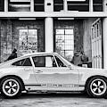 1972 Porsche 911 Monochrome by Tim Gainey