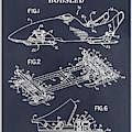 1982 Bobsled Blackboard Patent Print by Greg Edwards