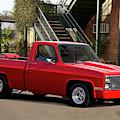 1983 Chevrolet C10 Lrhh Pickup I by Dave Koontz