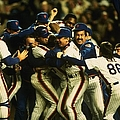 1986 World Series Mets by T.g. Higgins