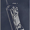 1988 Motorola Cell Phone Blackboard Patent Print by Greg Edwards