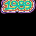 1989 Vintage Grafitti Style Word Art Classic Art by Henry B