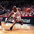 1995-96 Nba Finals - Game 2 Sonics V by Barry Gossage