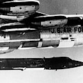 1x15 Rocket Plane Launched From The B52 Carrying It, 1962 by American School