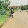 A City Park by William Merritt Chase