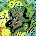 Anubis by Sotuland Art