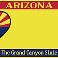Arizona State License Plate by Bigalbaloo Stock