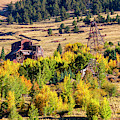 Autumn Leaves In The Mining District by Steve Krull