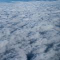 Beautiful Cloudscape High Up In The Sky. by Raymond De la Croix