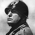 Benito Mussolini by Topical Press Agency