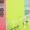 Bo-kaap Area Of Cape Town by Rob Huntley