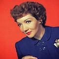 Claudette Colbert, Vintage Movie Star by John Springfield