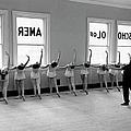 Dancers Ballerinas At George Balanchin by Alfred Eisenstaedt