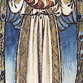 Day Angel Holding A Sun by William Morris