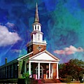 First Baptist Church Myrtle Beach S C by Bob Pardue