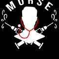 Funny Murse Male Nurse Hospital Medicine Gift by TeeQueen2603