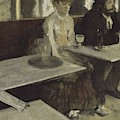 In A Cafe  by Edgar Degas
