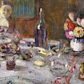 Luncheon  by Edouard Vuillard