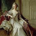 Madame Henriette De France As A Vestal Virgin by Jean-Marc Nattier