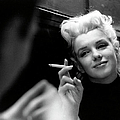 Marilyn Candid Moment by Michael Ochs Archives