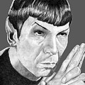 Mr. Spock by Bill Richards